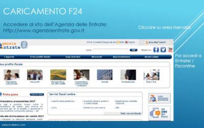 Nuova modalità di presentazione telematica delle deleghe F24